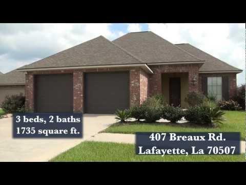 Homes For Sale, 407 Breaux Rd, Lafayette, La 70507