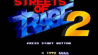 Streets of Rage 2 Intro (SOR Super Mix) - Yuzo Koshiro [1992] [Sega Genesis/Mega Drive]