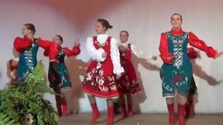 Hot russian folk dance