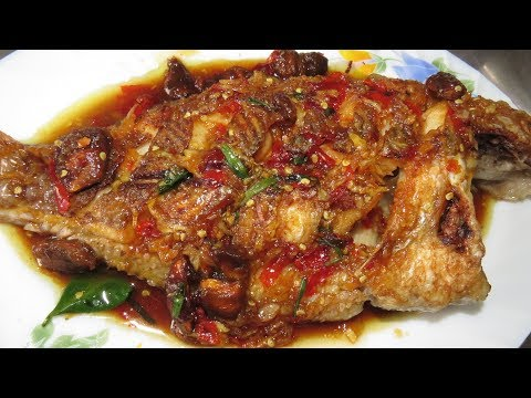 Fried Fish With Tamarind - Khmer Cooking Food At Home - Asian Food Cooking