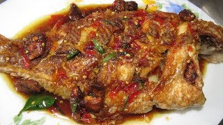 How To Cook Fried Fish With Tamarind - Khmer Cooking Food At Home - Asian Food Recipe
