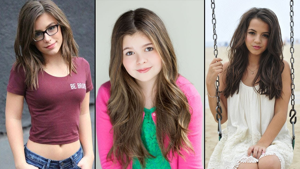 Top 10 Beautiful Nickelodeon Teen Girls Under 18 - Star ...
