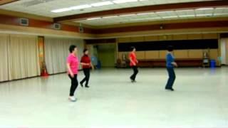 T-bone Shuffle linedance (by Peter Metelnick)