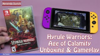 Hyrule Warriors Age Of Calamity Unboxing Gameplay Youtube