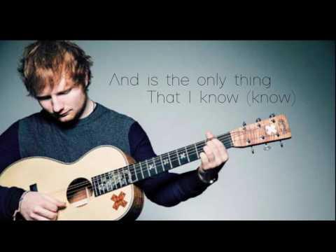 Ed Sheeran Photograph Letra