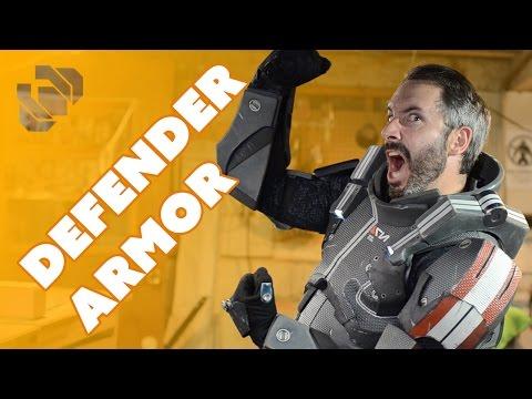 Mass Effect Defender Armor Cosplay - Prop: Shop