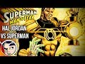 Green Lantern Vs Superman Man of Fear - Rebirth Complete Story