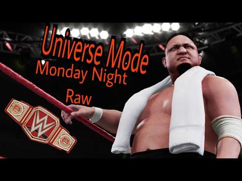 WWE 2K18 Universe Mode Ep 28-Raw-Challenging Y2J?!