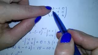 Обратная матрица. Алгоритм нахождения обратной матрицы пример. Невырожденная матрица