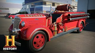 Counting Cars: STUNNING 1937 Fire Truck is American History (Season 9) | History