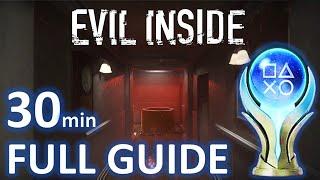 Evil inside 100% platinum walkthrough | trophy & achievement guide mp3