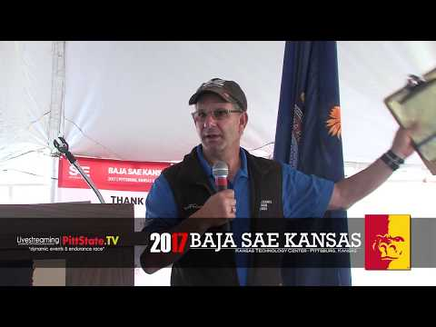 Welcoming Ceremony  ///  2017 Baja SAE Kansas