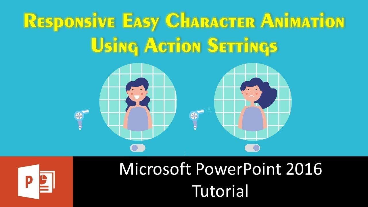 Responsive Easy Character Animation using Action Settings in