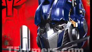 TRANSFORMERS sound effect optimus prime voice command