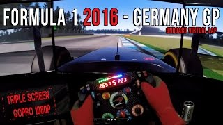 Formula 1 2016 Germany (Alemania) GP - Circuit de Hockenheim Onboard Virtual Lap