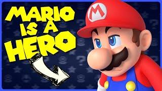 Mario IS A HERO!