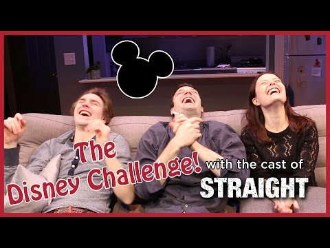 The Disney Challenge with the Cast of STRAIGHT!