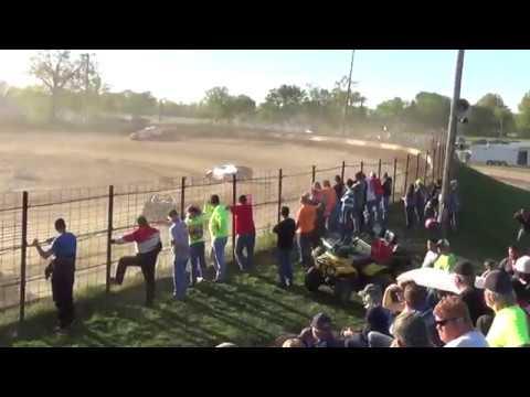 Rick Conoyer Heat 4/23/17 Fayette County Speedway