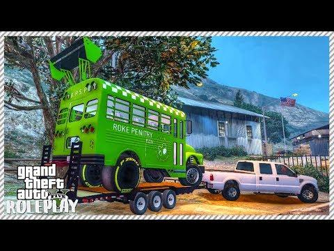 GTA 5 ROLEPLAY - INCREDIBLE DIY DRAG BUS BUILD | Ep. 154 Civ