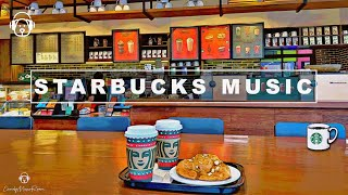 Best Starbucks Inspired  Music 2021 -  Jazz Coffee Shop Playlist, Study, Work, Starbucks Music