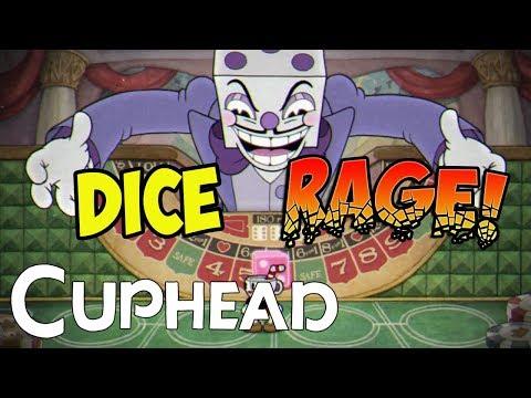KING DICE RAGE & BAD ENDING! Cuphead!