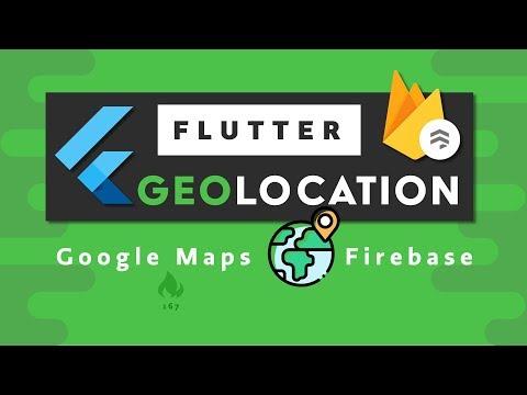 Flutter Google Maps + Firestore Geolocation - Build the next Uber?