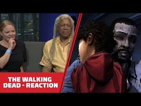 Telltale: Walking Dead's Clementine & Lee React to Season 1 Finale 6 Years Later - Comic Con 2018