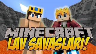 2 VS 2 | Minecraft | Lav Savaşları - 2 | Bölüm-7 | ft. İbrahim Güneş,HyperFox