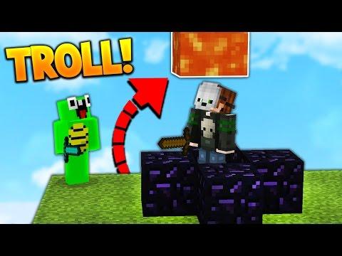 HILARIOUS REVERSE HIDE & SEEK TROLLING! - Видео из Майнкрафт (Minecraft)
