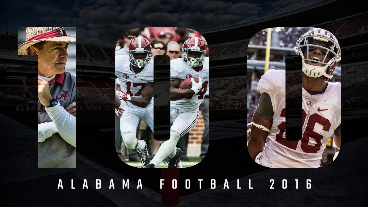 Alabama Football 2016 Hype Trailer