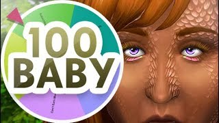THIS IS TERRIFYING 👹🔥  | THE SIMS 4 // MYSTERY WHEEL 100 BABY CHALLENGE — 18