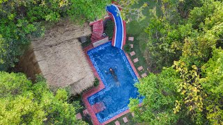 Download Full Video Build The Most Beautiful Swimming PoolVilla by ancient skills