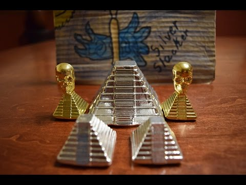 Unboxing Amazing Golden YPS Pyramids from Pit Bullion!