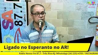 LIGADO NO ESPERANTO! 15/08/2021