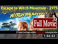 Escape to Witch Mountain (1975) [With Full Trailer]
