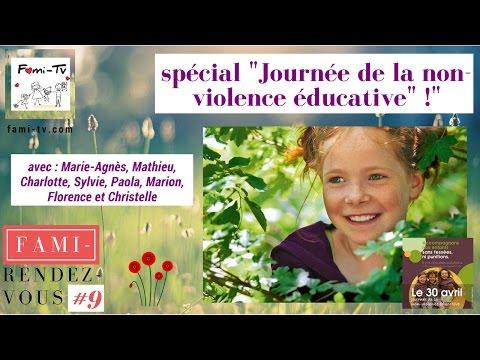 """FAMI-DIRECT spécial """"Journée de la non-violence éducative"""" - avec toute la Fami-équipe"""