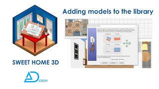 Sweet Home 3d Tutorial: How To Download And Add Furniture, 3d Models