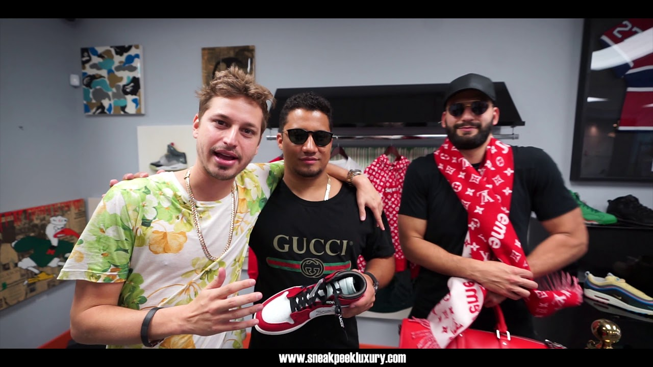 551638e2ce3 Hype Shopping With KondZilla @ Sneak Peek Luxury