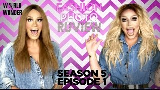 RuPaul's Drag Race Fashion Photo RuView with Raja and Raven: Season 5 Episode 1