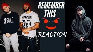 NF - Remember This (Audio) REACTION