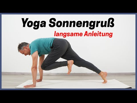 Yoga Sonnengruss Fur Anfanger Langsam Und Exakt Youtube