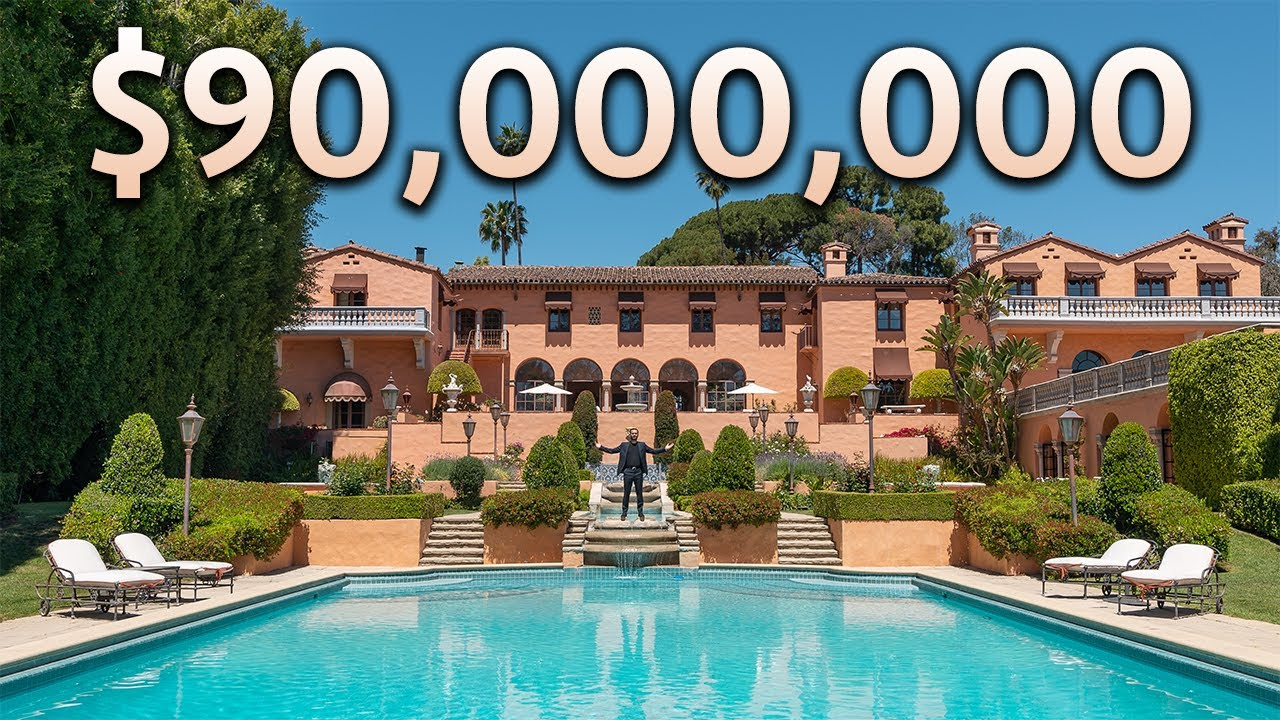 Touring the $90,000,000 Iconic GODFATHER Estate