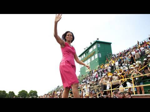 First Lady Michelle Obama on Leadership & Mentoring in Detroit