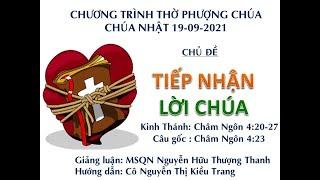 HTTL HUẾ - Chương trình thờ phượng Chúa - 19/09/2021