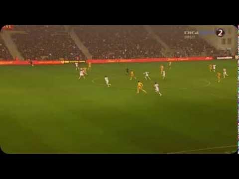 Vlad Chiriches (Tottenham) brilliant goal-line clearance vs Sheriff Tiraspol 24.10.2013