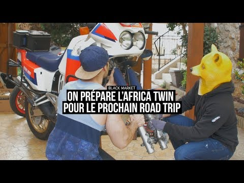 On prépare l'Africa Twin pour un nouveau road trip ! |TALK 06| BLKMRKT