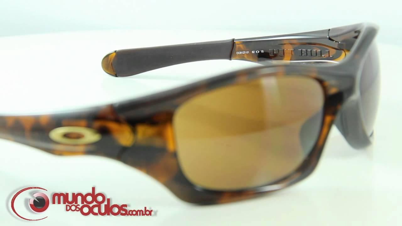 71a768590ac42 Óculos de Sol Oakley Pit Bull - Mundo dos Óculos - YouTube