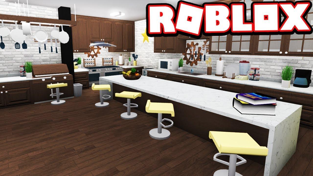 Modern Kitchen Re Design Bloxburg Adventures Roblox