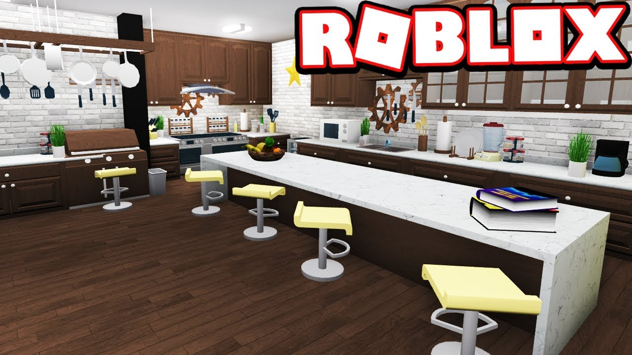 Robloxbloxburg Kitchen Revamp Tour Youtube Kitchen Modern Kitchen Re Design Bloxburg Adventures Roblox Bloxburg Youtube