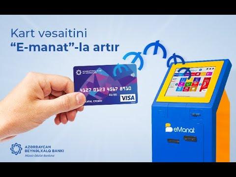 Azerbaycan Beynelxalq Banki E Manat Terminalinda Karta Medaxil Kredit Odinisi Hesabin Artirilmasi Youtube